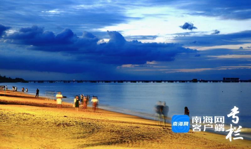 观海台,一张海口西海岸的风光名片