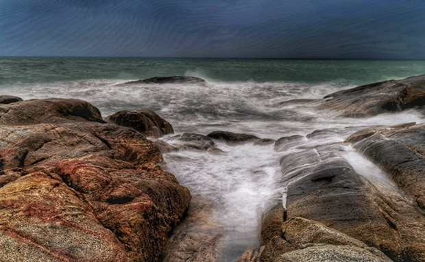 拍客 漫步文昌木兰湾奔忙,感受海风轻轻吹