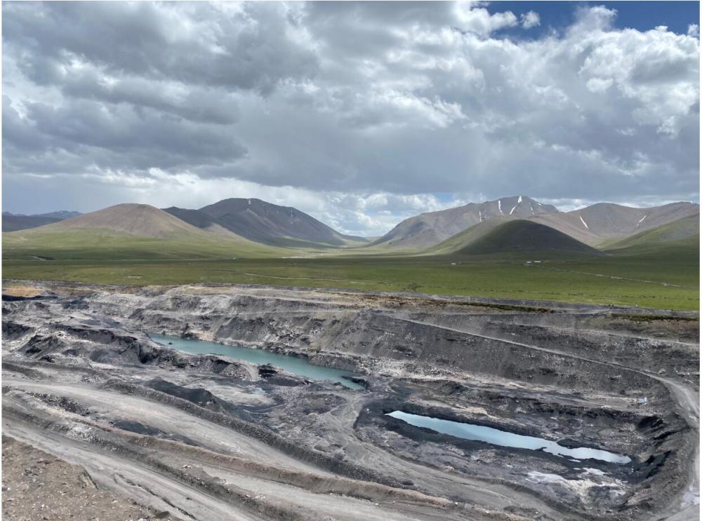 青海省对木里矿区非法开采专项调查展开现场督导