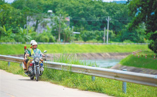 儋州市水政执法队:勤巡查 护清渠
