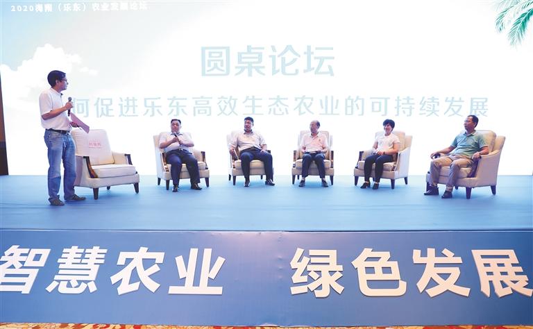 庆丰收 迎小康丨2020海南(乐东)农业发展论坛举行 坚持绿色发展 打造智慧农业