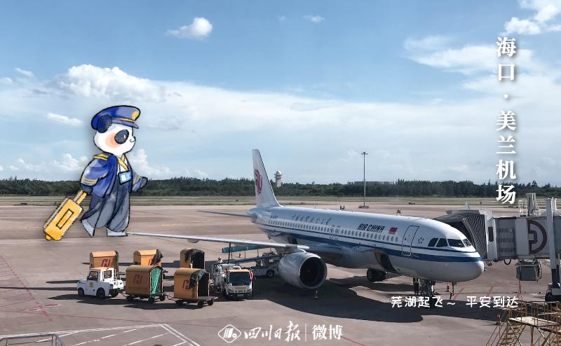 """安逸得很!来自四川的""""大熊猫""""不仅在海南逛吃,他们还……"""